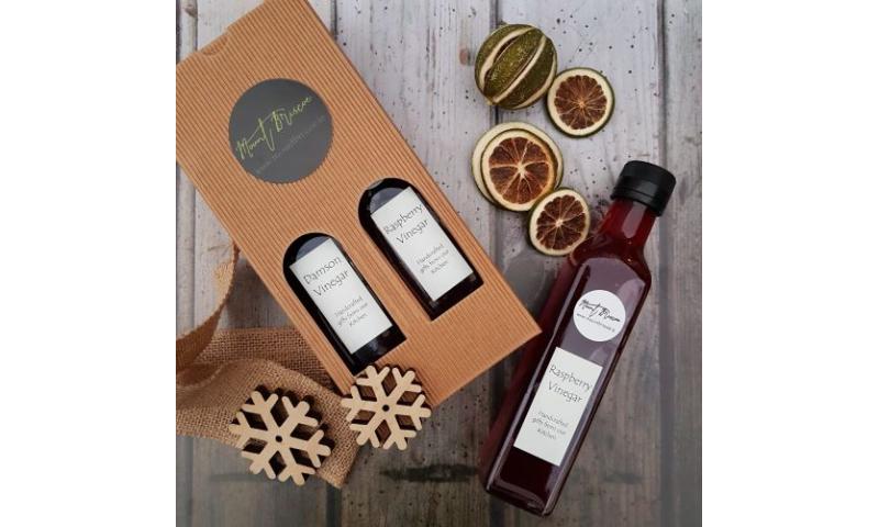 Organic Fruit Vinegars Gift Set